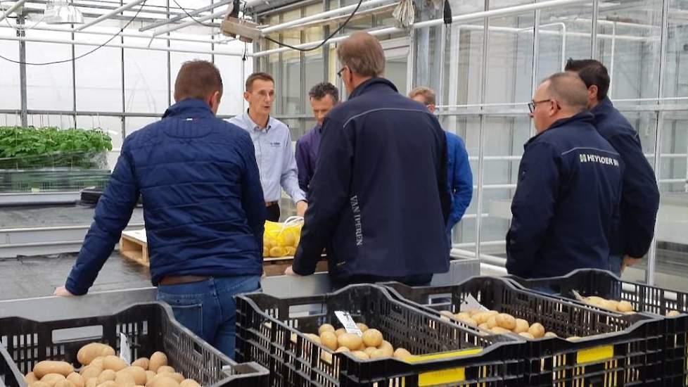 aardappelspecialisten bijgepraat over eerste resultaten allstar. detail-