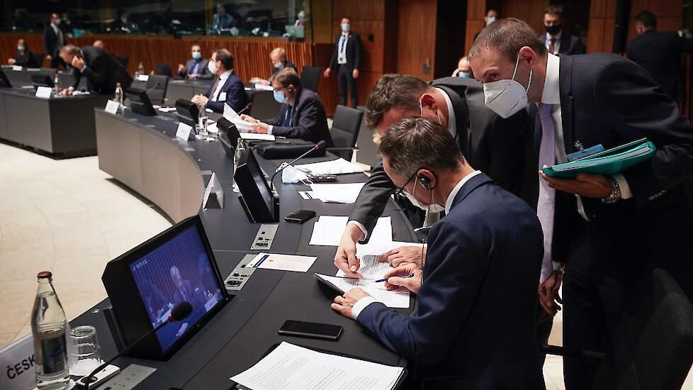 Ministers in overleg